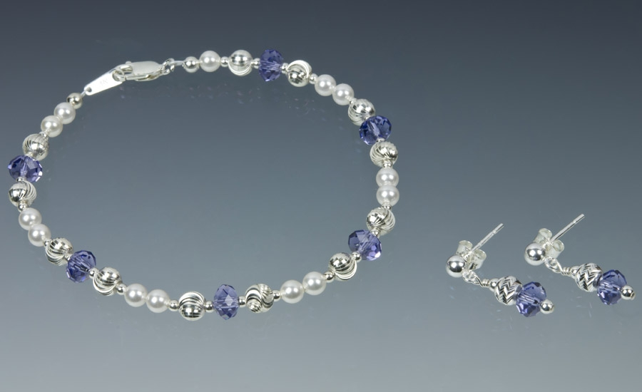 Tanzanite and Sterling